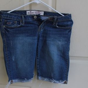 Knee Length Hollister Jean Shorts